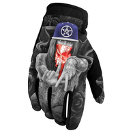 UNIT SOUTH CENTRAL GLOVES BLACK