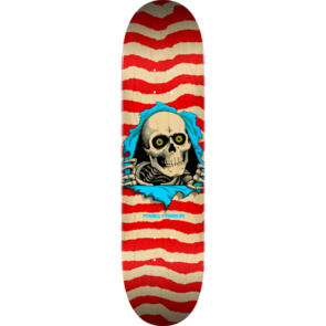 POWELL PERALTA RIPPER DECK NATURAL / RED 8.5