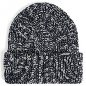 SANTA CRUZ SPECKLE BEANIE BLACK