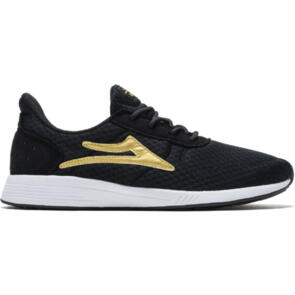 LAKAI EVO BLACK/GOLD MESH