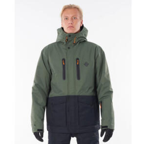 RIP CURL SNOW 2021 PALMER JACKET FOREST GREEN