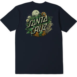 SANTA CRUZ NATURE DOT TEE BLUE NIGHTS