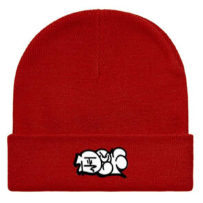 DEF THROWUP BEANIE RED