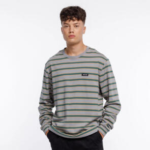 THING THING THE LS TEE - GREY STRIPE
