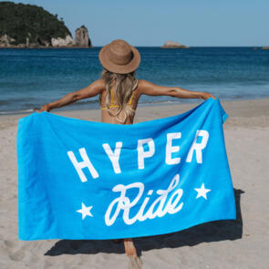 HYPER RIDE BEACH TOWEL - BLUE