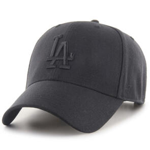 47 BRAND LOS ANGELES DODGERS BLACK/BLACK '47 MVP SNAPBACK