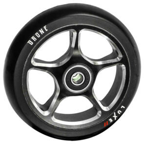 DRONE 120MM LUXE 2 WHEEL - BLACK (SINGLE)