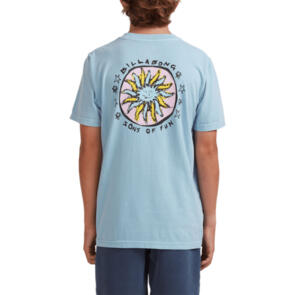 BILLABONG YOUTH SONS OF FUN SS TEE DUSTY BLUE