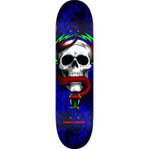 POWELL PERALTA BIRCH SKULL & SNAKE ONE OFF DECK ROYAL 7.75