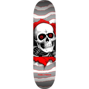 POWELL PERALTA BIRCH RIPPER ONE OFF DECK SILVER 8.0