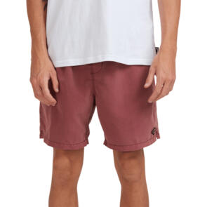 BILLABONG ALL DAY OVD LAYBACK BOARDSHORTS ROSE DUST