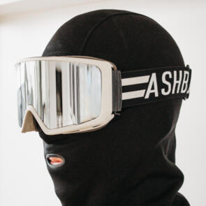 ASHBURY 2022 ARROW STRIPES (SILVER MIRROR LENS/YELLOW SPARE)