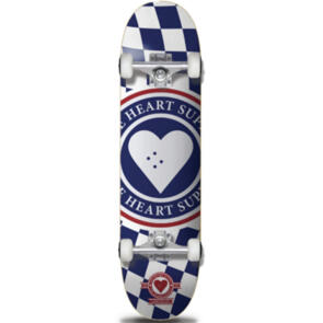 """THE HEART SUPPLY INSIGNIA CHECK COMPLETE BLUE 8"""""""""""