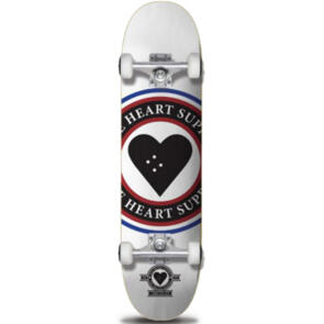 """THE HEART SUPPLY INSIGNIA COMPLETE WHITE 8.25"""""""""""