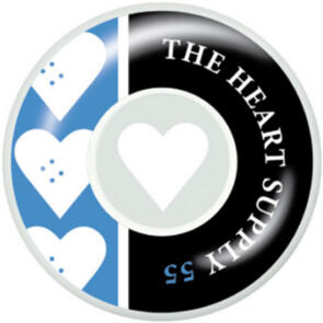 """THE HEART SUPPLY SQUAD WHEELS KELLY BLUE 55MM"""""""""""