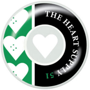 """THE HEART SUPPLY EVEN WHEELS KELLY GREEN 51MM"""""""""""