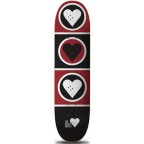 """THE HEART SUPPLY SQUAD DECK BLACK/RED 8.375"""""""""""