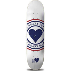 """THE HEART SUPPLY INSIGNIA DECK WHITE 8.25"""""""""""