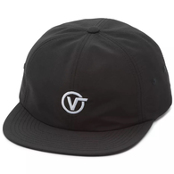 VANS CIRCLE V JOCKEY CAP BLACK