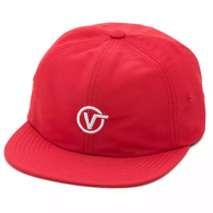VANS CIRCLE V JOCKEY CAP RACING RED