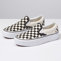 VANS CSO PLATFORM BLACK AND WHITE CHECKER WHITE