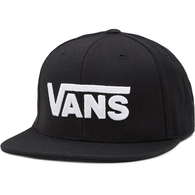 VANS DROP V II SNAPBACK BLACK WHITE