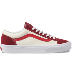 VANS STYLE 36 RETRO SPORT BIKING RED POINSETTIA