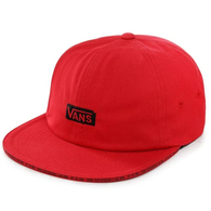 VANS X BAKER JOCKEY CAP RACING RED