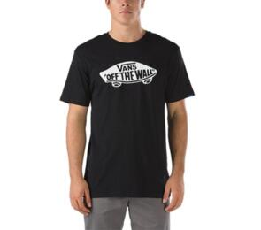 VANS OTW TEE BLACK WHITE