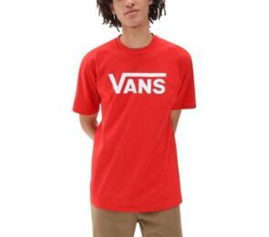 VANS CLASSIC TEE RED