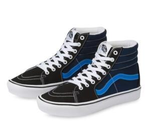 VANS COMFYCUSH SK8-HI (TRI-TONE) BLACK DRESS BLUES