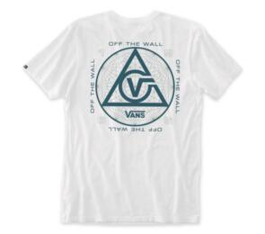 VANS THREE POINTS SS TEE WHITE