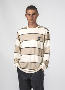 THING THING STRIPED LS TEE CLAY BOLD