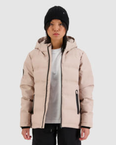 HUFFER WOMENS SUPERDOWN JKT DUSKY PINK
