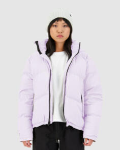 HUFFER 2021 WOMENS BLOCK DOWN JACKET LILAC