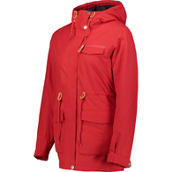 WEARCOLOUR 2019 WOMENS STATE PARKA RED