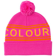 WEARCOLOUR 2020 KNIT BEANIE POST-IT PINK