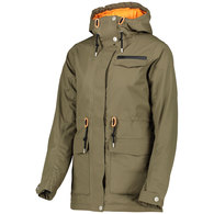 WEARCOLOUR 2020 WOMENS STATE PARKA MUD