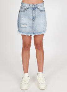 FEDERATION WELCOME SKIRT WASHED BLUE