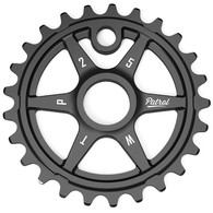 WETHEPEOPLE PATROL 28T SPROCKET BLACK