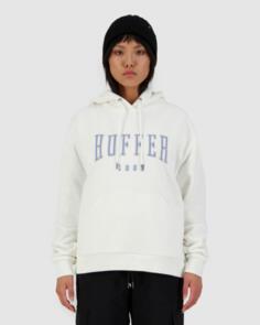 HUFFER WOMENS SLOUCH HOOD/ECHO WINTER WHITE