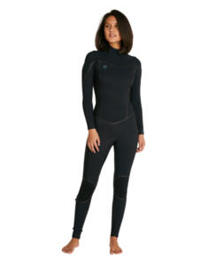 ONEILL 2021 WOMENS PSYCHO ONE BZ FULL 3/2MM BLK/BLK/BLK