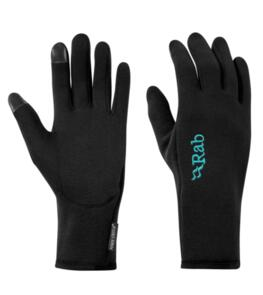 RAB POWER STRETCH CONTACT GLOVES WMNS BLACK