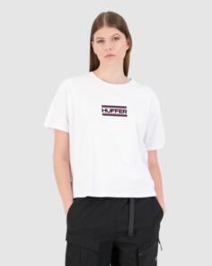 HUFFER WOMENS STELLA TEE/UNION WHITE