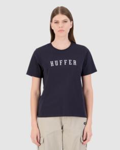 HUFFER WOMENS STELLA TEE/STATESIDE NAVY