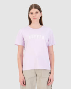 HUFFER WOMENS STELLA TEE/STATESIDE LILAC