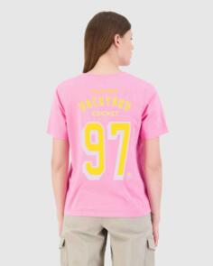 HUFFER WOMENS STELLA TEE/BACKYARD TAFFY