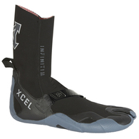 XCEL WETSUITS 2020 5MM SPLIT TOE INFINITI BOOT BLACK GREY
