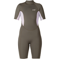 XCEL 2018 WOMENS 2MM AXIS S/S SPRINGSUIT JET BLACK IRIS