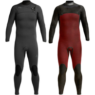 XCEL WETSUITS 2020 COMP 4/3MM CHEST ZIP STEAMER BLACK